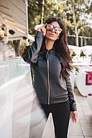 Кожаная куртка Модель 1023 (ДМК)