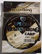 Рыболовная леска Кондор MegaStrong Special Carp CAMOU SAND, 0,28мм, 300м