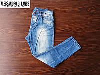 Стильные мужские итальянские джинсы Alessandro di lange.(W 32/L 31)