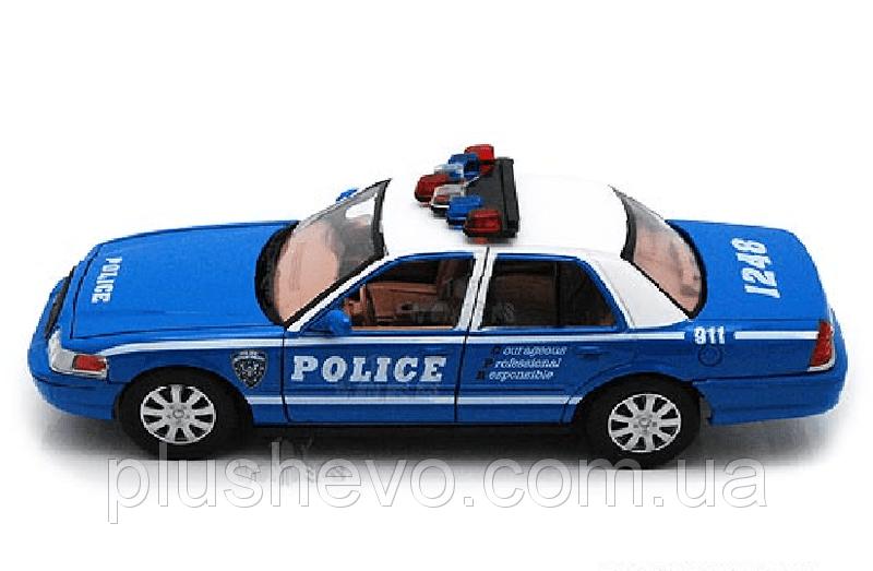 Металлическая модель kinsmart Ford Crown Victoria (Police)