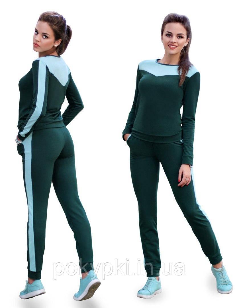 56d5d71d Спортивный костюм женский трикотажный для прогулок ткань двунитка, спортивные  костюмы женские оптом -