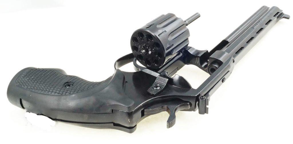 Револьвер под патрон флобера Safari РФ 461М с пластиковой рукояткой