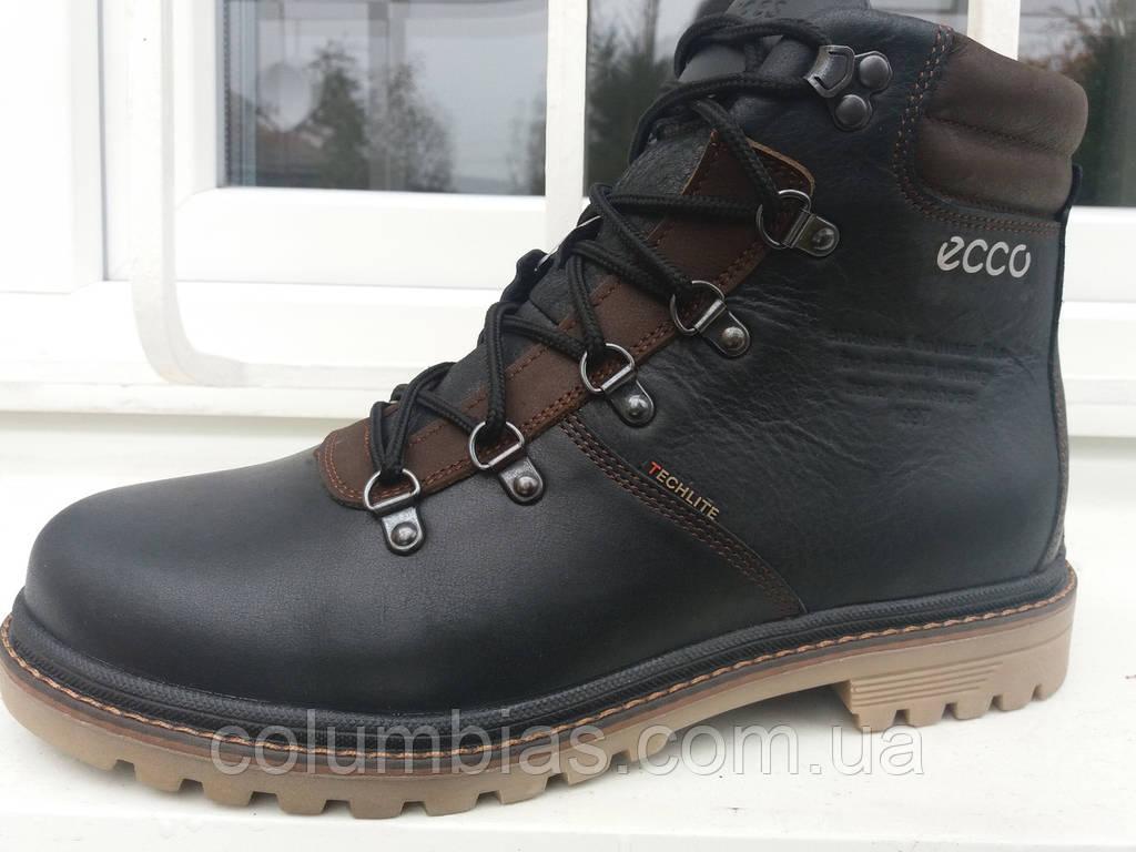 2deb41a92dbb Мужская кожаная зимняя обувь ecco  продажа, цена в Днепропетровской ...