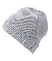 Вязаная шапка с отворотом 7111-94