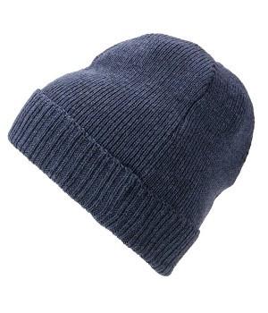 Вязаная шапка с отворотом 7111-32