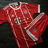 Детская Футбольная форма Bayern Munchen Home/ Бавария Мюнхен домашняя  2017-2018