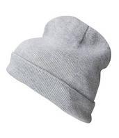 Вязаная шапка с отворотом 7112-94