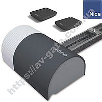 Комплект автоматики SHEL60 KCE Nice для гаражных секционных ворот (до 8.4 м.кв.)