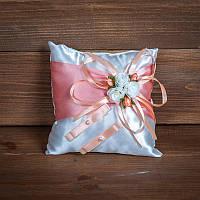 Свадебная подушечка для колец (арт. CR-011)