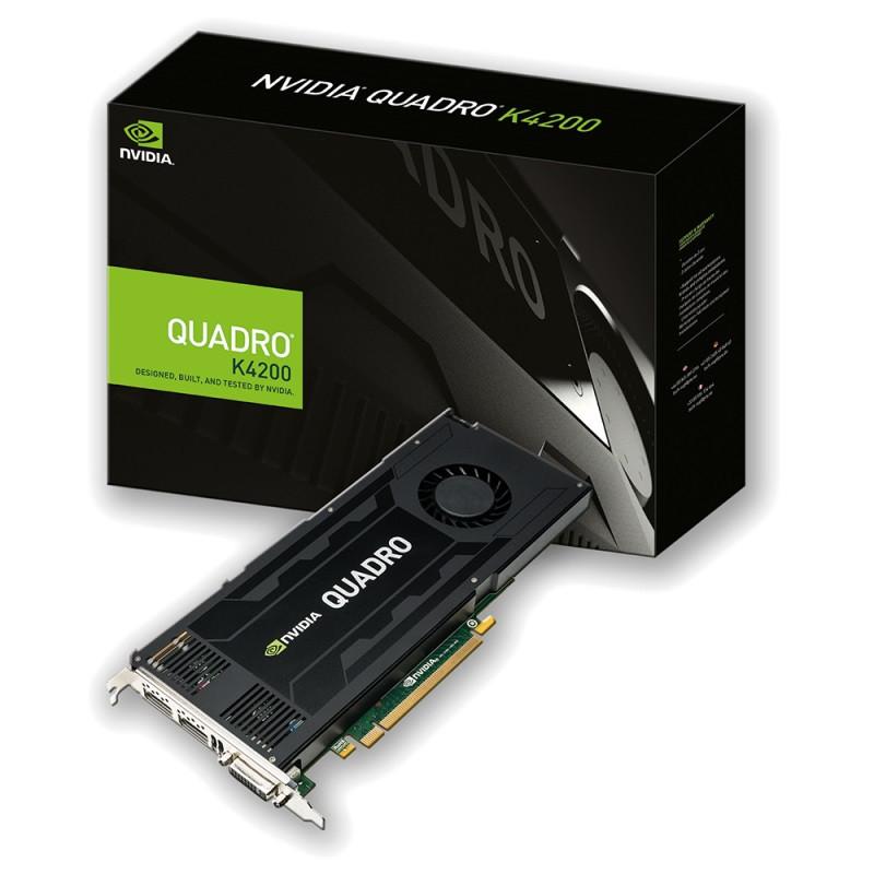 "Видеокарта (PRO) PNY Quadro K4200 4GB DDR5 (VCQK4200-PB) ""Over-Stock"" Б/У"
