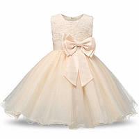 Нарядное платье для девочек на 2-3 года