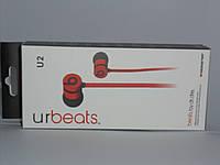 Наушники Monster U2 с микрофоном, аксессуары для телефона, аксессуар для копмьютера, наушники
