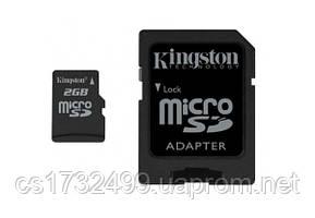 Карта памяти Kingston microSD 2 Gb (SDC/2GB)