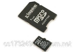 Карта памяти Kingston MicroSDHC 4 Gb class 4 (SDC4/4GB)