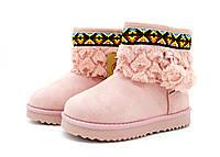 Розовые угги для девочек Kylie crazy 29-34 размер