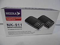 Мини-колонка Neeka NK-911, Плеер, радио колонки,радиоприемники, аудиотехника, радио колонки,оригинальные