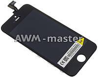 Дисплей Apple iPhone 5 S с сенсором черный Original Pass