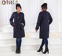 Пальто  деми, №3582Г (р-р.48,50,52,54,56). Ткань: кашемир. Цвета в ассортименте