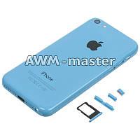 Задняя крышка Apple iPhone 5C голубой