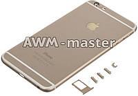 Задняя крышка Apple iPhone 6+ 5.5 золотой Оригинал