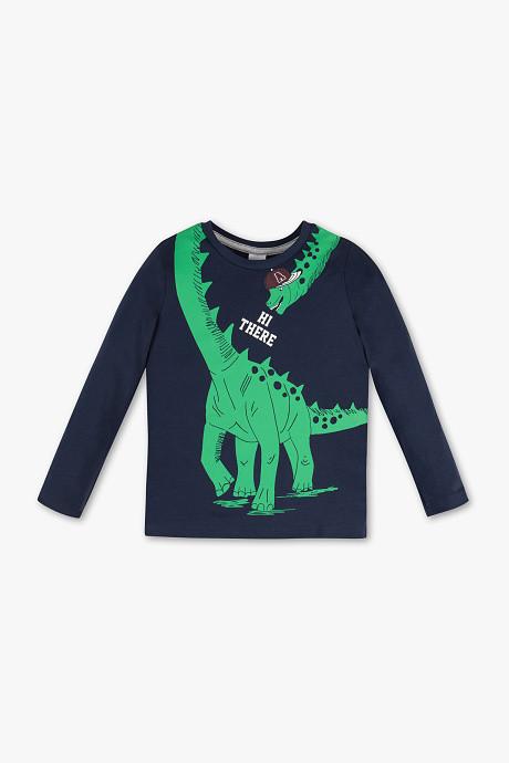 Детский реглан с динозавром на мальчика 3-4 года C&A Германия Размер 104