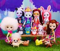 Ляльки Энчантималс дівчинки тварини / enchantimals dolls
