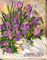 Набор для вышивания бисером Цветочное кружево AB-535