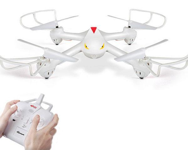 Дешевый квадрокоптер дрон среднего размера MJX x708 без камеры, быстрый старт новичкам, отличный подарок