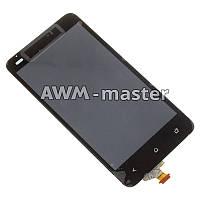Дисплей HTC T528d,One SC, с сенсором. черный