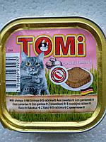 Консервы Томи (Tomi) для кошек с креветками