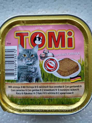 Консервы Томи (Tomi) для кошек с креветками, фото 2