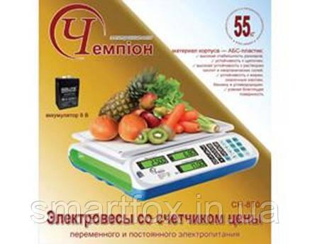 Электронные весы Чемпiон CH-810 (до 55кг), фото 2