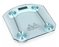 Весы электронные напольные бытовые стеклянные квадратные JKC-1