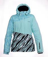 Женская горнолыжная(лыжная) куртка Just Play бирюзовая