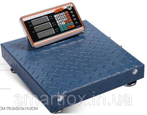 Весы электронные торговые WiFi Domotec 300кг 40х50см TCS-R2-300kg-DM, фото 2