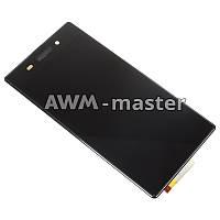 Дисплей Sony C6902,C6903,C6906,L39H,L39 Xperia Z1 с сенсором. черный. Оригинал
