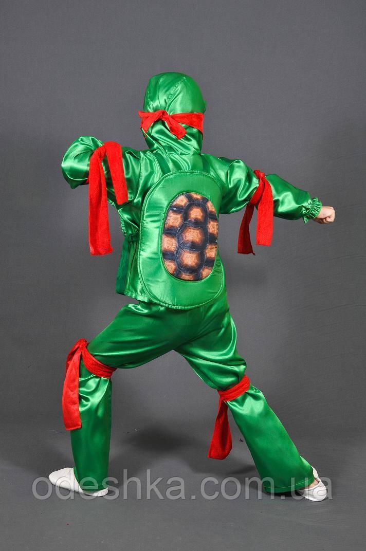Детский карнавальный костюм Ниндзя Черепашка(Рафаэль ...