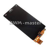 Дисплей Sony D5803,D5833 Xperia Z3 Mini Compact с сенсором. черный Оригинал