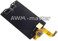 Дисплей Sony Ericsson SK17,SK17i Xperia Mini Pro с сенсором. черный