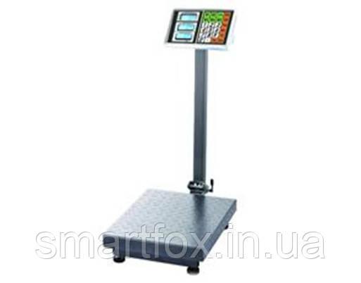 Весы электронные торговые BITEK YZ-909-G5A-600kg 600кг с усиленной платформой (45х60 см), фото 2
