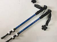 Палки туристические EXPONENT, для скандинавской ходьбы, трека (пара) 65-137 см. (наружное крепление)