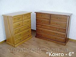 """Комод деревянный от производителя """"Конго - 6"""", фото 2"""