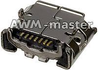 Разъем зарядки Samsung C3222,C3322,C3330,C3500,C3750,E2222,E2530,E2652,S3850,B2710,B7350 Оригинал