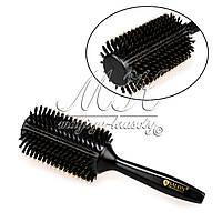 Браш натуральный для волос Salon Professional в коробке, диаметр 43 см