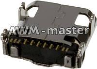 Разъем зарядки Samsung i9500,N7100