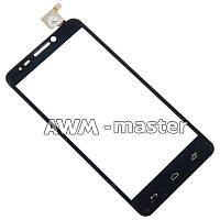 Сенсорное стекло Alcatel One Touch Idol 6030D черное