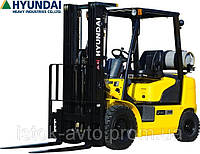 Автопогрузчик Hyundai 33G-7M газ/бензиновый, фото 1