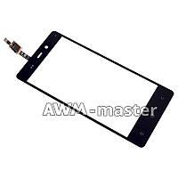 Сенсорное стекло Fly iQ453 Quad Luminor FHD черное Оригинал