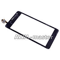 Сенсорное стекло Lenovo K860 черное