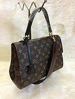 Женская брендовая сумка Louis Vuitton Луи Виттон коричневая